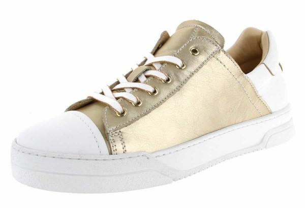 Damen Sneaker im Weiß-Gold - Bild 1