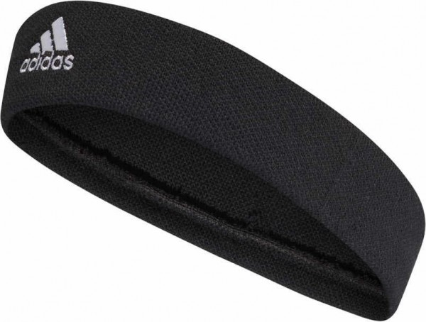 TENNIS HEADBAND,BLACK/WHITE - Bild 1